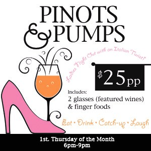 Pinots and Pumps Travinia