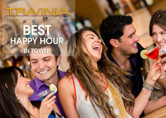 Happy Hour at Travinia